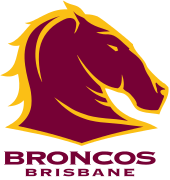 Broncos Brisbane badge