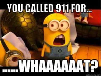 911 minion