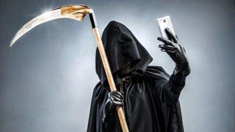 Grim Reaper phone